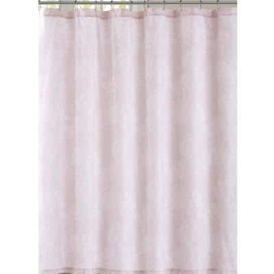 Spring Bloom 72 in. Floral Shower Curtain