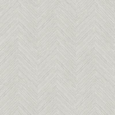 Caladesi Light Grey Faux Linen Paper Strippable Roll (Covers 56.4 sq. ft.)