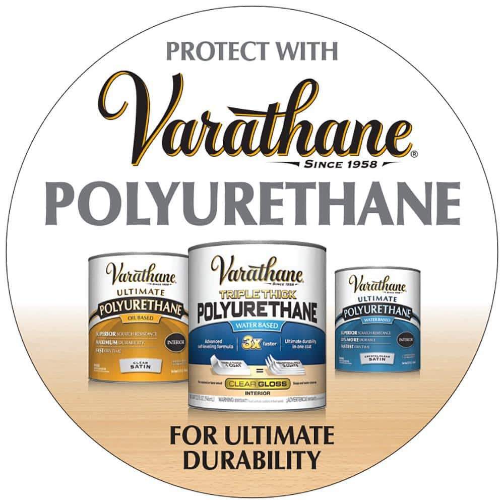 Varathane 1 Qt Cherrywood Wood Interior Gel Stain 2 Pack 339586 The Home Depot