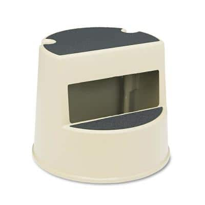 Mobile Two-Step Stool in Beige