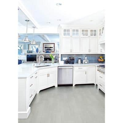 Everglades Grey 8 in. x 24.5 in. Matte Ceramic Floor and Wall Tile (12.25 sq. ft. / Case)
