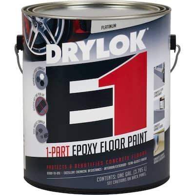 1 gal. Platinum E1 Epoxy Floor Paint