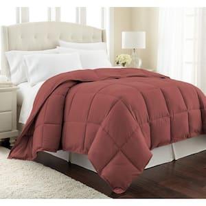 Vilano Down Alternative Marsala Solid Full/Queen Microfiber Comforter