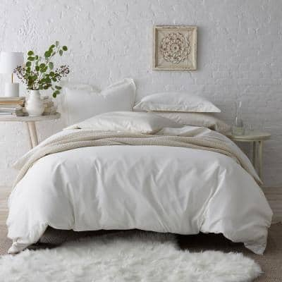 Company Cotton® 300-Thread Count Wrinkle-Free Cotton Sateen Duvet Cover