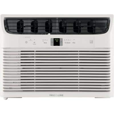 15,000 BTU Connected Window-Mounted Room Air Conditioner in White