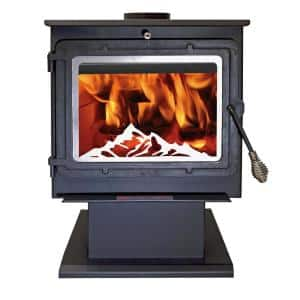 2,000 sq. ft. EPA Certified Wood-Burning Stove