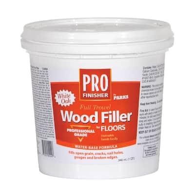 Pro Finisher 1 qt. White Oak Matte Full Trowel Wood Filler