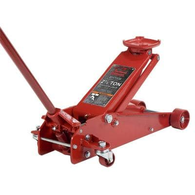 2.5-Ton Service Jack Heavy-Duty with 2-Piece Handle