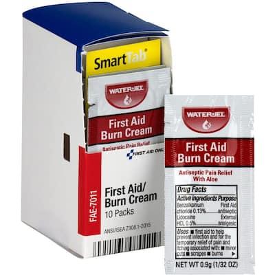 First Aid Burn Cream Packets (10 Per Box)