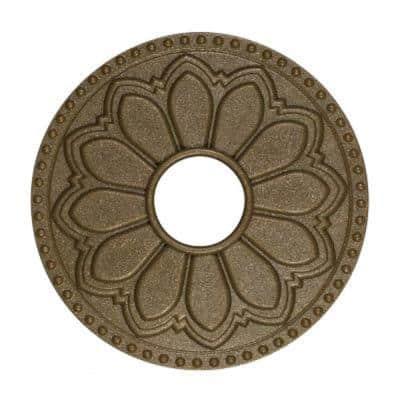 Hermosa Magnetic Flange Cover in Glamour Gold