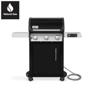Spirit EX-315 3-Burner Natural Gas Smart Grill in Black