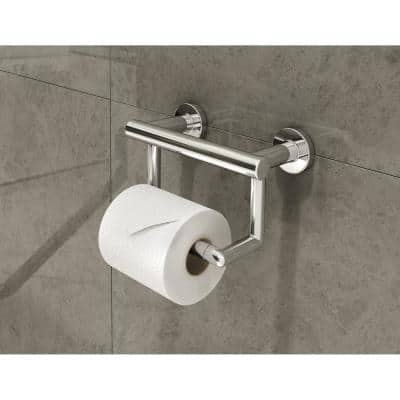 Dia ADA Wall-Mounted Toilet Paper Holder in Polished Chrome