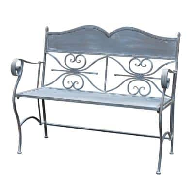Bench Fold Iron Flat Gray
