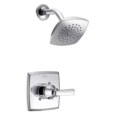 Ashlyn 1-Handle Pressure Balance Shower Faucet Trim Kit in Chrome (Valve Not Included)