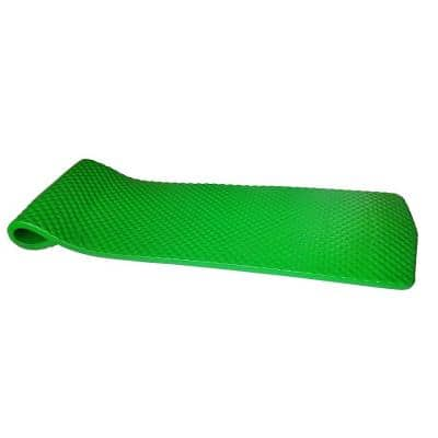 Botanical Green Dimpled Lounger Pool Water Float