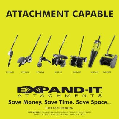 Expand-It 140 MPH 475 CFM Universal Axial Blower Attachment