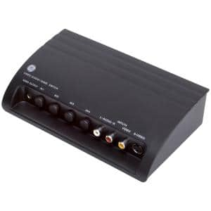 Pro 4-Device Audio/Video Switch with S-Video
