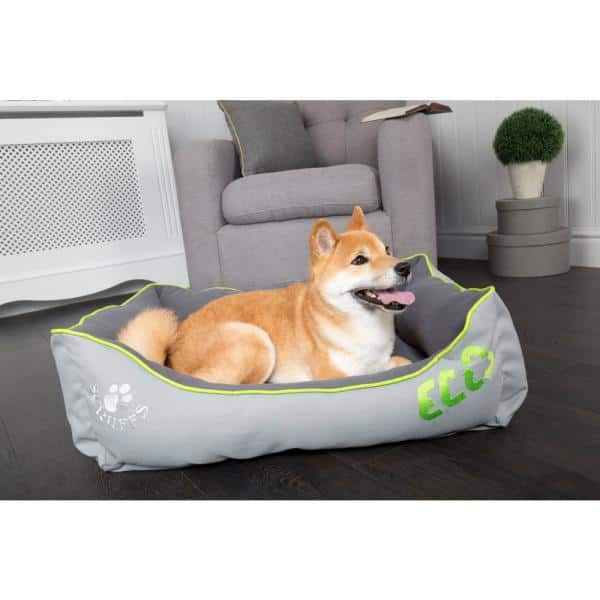 Scruffs Eco Urban Xl Grey Polyester Dog Box Bed Bed Rcd 938772 The Home Depot
