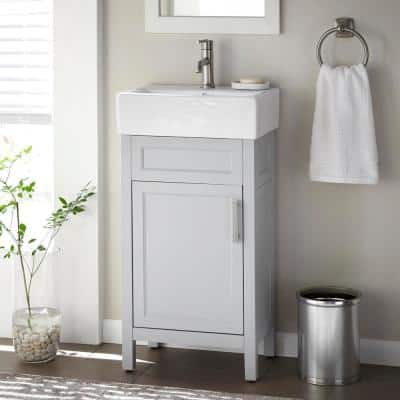 18 Inch Vanities Bathroom Vanities Bath The Home Depot