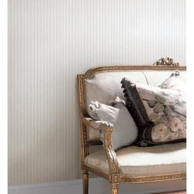 Lillian Blue Stripe Wallpaper