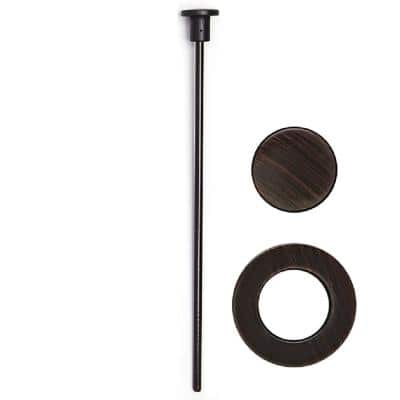 Pop-Up Drain Trim Kit only for Easy Popup Clog Free FlexPOPUP Sink Strain Drain in Oil Rubbed Bronze