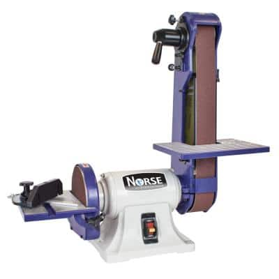 42 in. L x 2 in. Bench Belt and Disc Sander