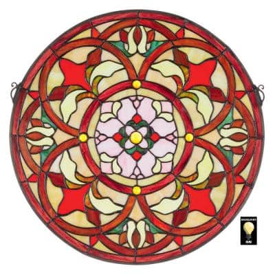 Stained Glass Panels Wall Decor The Home Depot