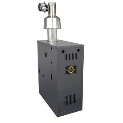 RRG Series 84% AFUE Natural Gas Water Boiler with 134,000 BTU Input and 98,000 Output