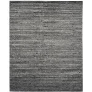 Vision Gray 8 ft. x 10 ft. Solid Area Rug