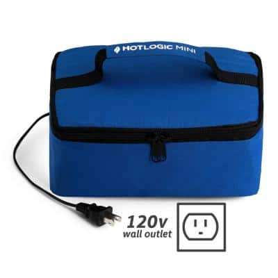 45-Watts Blue Portable Oven Food Warming Tote