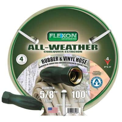 5/8 in. x 100 ft. All-Weather Garden Hose