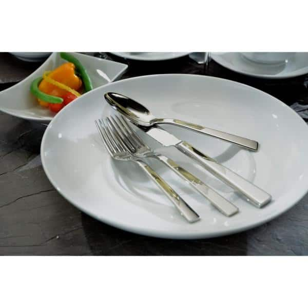 Oneida Elevation Dinner Forks 18 10 Stainless Steel Set Of 12 T283fdnf The Home Depot