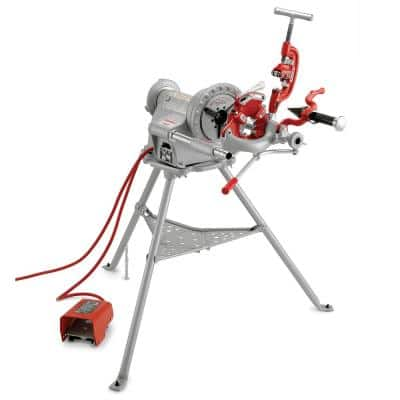 115-Volt 57 RPM Model 300 Power Drive Complete Pipe Threading Machine