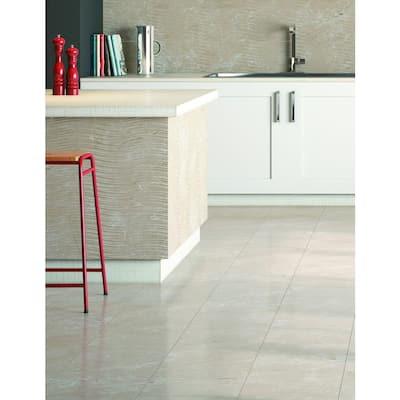 Delray Beige 12 in. x 12 in. Ceramic Floor and Wall Tile (16.15 sq. ft. / case)