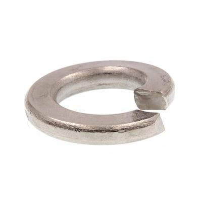 3/8 in. Grade 18-8 Stainless Steel Medium Split Lock Washers (50-Pack)