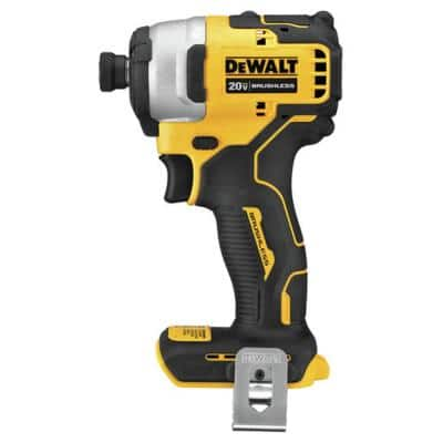 ATOMIC 20-Volt MAX Cordless Brushless Compact 1/4 in. Impact Driver (Tool-Only)
