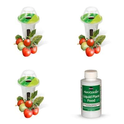 3-Pod Mighty Mini Cherry Tomato Seed Kit