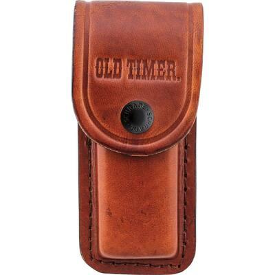 Old Timer Large Brown Leather Belt Sheath