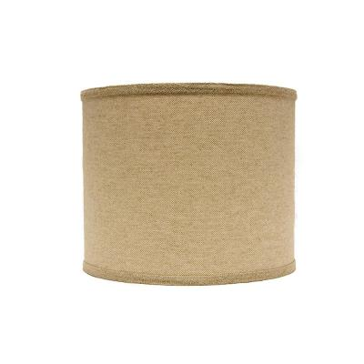 14 in. x 13 in. Neutral Brown Lamp Shade