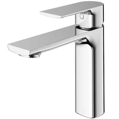 Davidson Single Hole Single-handle Bathroom Faucet in Chrome