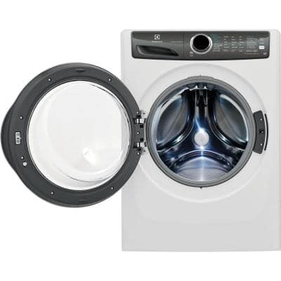 4.3 cu. ft. Front Load Washer with LuxCare Wash System, Steam in White, ENERGY STAR