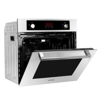 24 in. Built-in Single Natural Gas Wall Oven with Rotisserie, Digital Display, Stainless Steel Finish