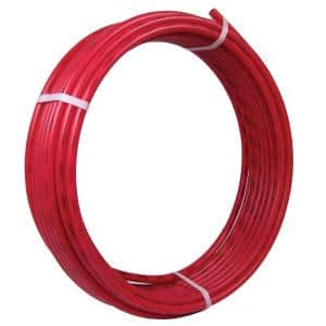 1/2 in. x 50 ft. Coil Red PEX-B Pipe