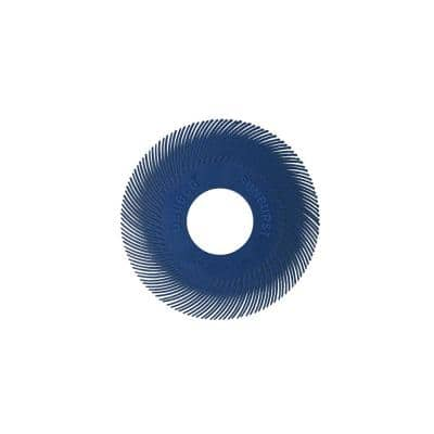 Sunburst - 6 in. TC Radial Discs - 1 in. Arbor - Thermoplastic Cleaning and Polishing Tool, Fine 400-Grit (40-Pack)