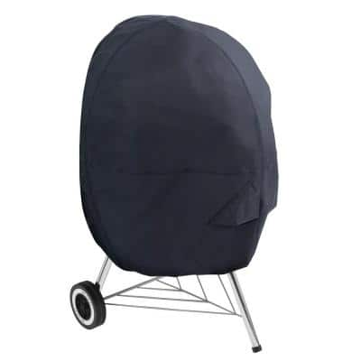26.5 in. Dia x 38 in. H Kettle BBQ Grill Cover