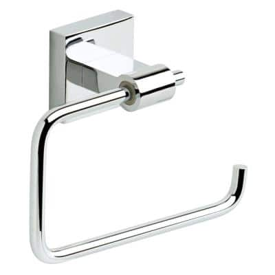 Maxted Single Post Toilet Paper Holder in Chrome