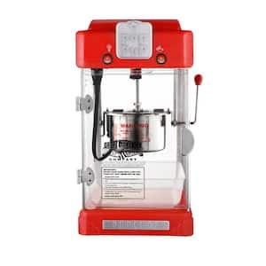 330-Watt 2.5 oz. Red Pop Pup Countertop Popcorn Machine with Scoop and Warming Light