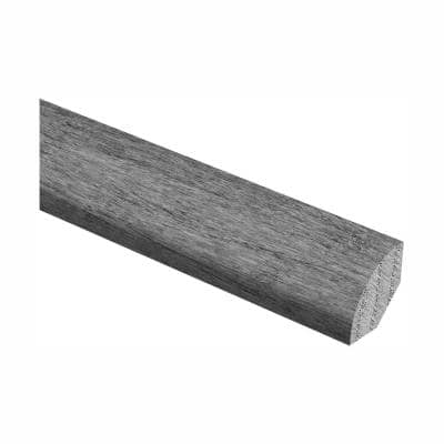 Western Hickory Saddle 3/4 in. Thick x 3/4 in. Wide x 94 in. Length Hardwood Quarter Round Molding