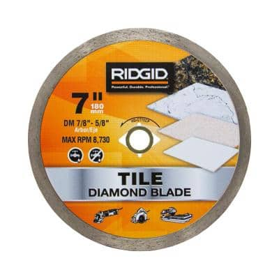 7 in. Continuous Diamond Blade