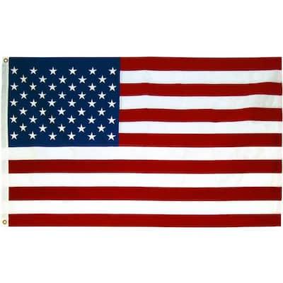 3 ft. x 5 ft. Polycotton U.S. Flag